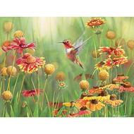 Cobble Hill Puzzles Cobble Hill Rufous Hummingbird Puzzle 500pcs