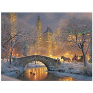 Cobble Hill Puzzles Cobble Hill Winter in the Park Puzzle 500pcs