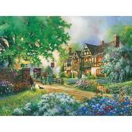 Cobble Hill Puzzles Cobble Hill Old Coach Inn Easy Handling Puzzle 275pcs