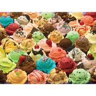 Cobble Hill Puzzles Cobble Hill More Ice Cream Family Puzzle 350pcs