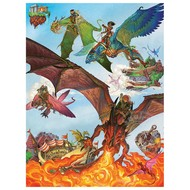 Cobble Hill Puzzles Cobble Hill Dragon Flight Family Puzzle 350pcs