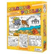 Cobble Hill Puzzles Cobble Hill Coloring Puzzles Nature 3 x 24pcs