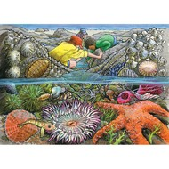 Cobble Hill Puzzles Cobble Hill Exploring the Seashore Tray Puzzle 35pcs
