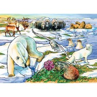 Cobble Hill Puzzles Cobble Hill Arctic Adventure Tray Puzzle 35pcs