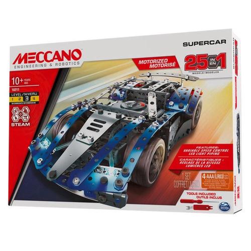 Meccano Meccano 25 Model Set - Supercar