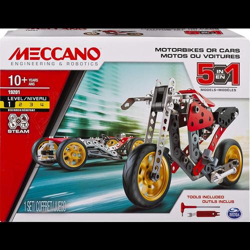 Meccano Meccano 5-in-1 Model Set - Street Fighter Bike
