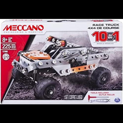 Meccano Meccano 10 Model Set - Race Truck