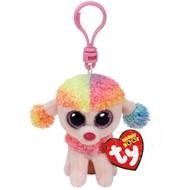 TY TY Beanie Boos Rainbow Clip