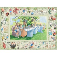 Cobble Hill Puzzles Cobble Hill Alice's Adventure in Wonderland Family Puzzle 400pcs