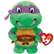 "TY TY Beanie Babies TMNT Donatello 8"" Reg"