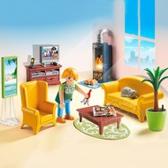 Playmobil Playmobil Living Room with Fireplace