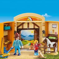 Playmobil Playmobil Pony Stable Play Box