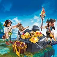 Playmobil Playmobil Pirate Treasure Hideout RETIRED