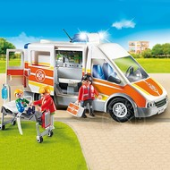 Playmobil Playmobil Ambulance with Lights and Sounds RETIRED
