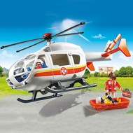 Playmobil Playmobil Emergency Medical Helicopter RETIRED
