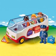 Playmobil Playmobil 123 Airport Shuttle Bus