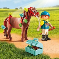 Playmobil Playmobil Groomer with Butterfly Pony RETIRED