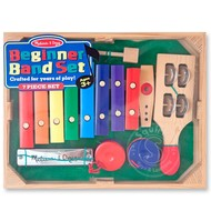 Melissa & Doug Melissa & Doug Band in a Box  Hum! Jingle! Shake! Beginner Band