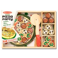 Melissa & Doug Melissa & Doug Wooden Pizza Party Play Food