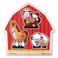 Melissa & Doug Melissa & Doug Barnyard Animals Jumbo Knob Puzzle