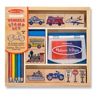 Melissa & Doug Melissa & Doug Vehicle Stamp Set