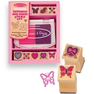 Melissa & Doug Melissa & Doug Butterfly & Heart Stamp Set