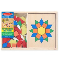 Melissa & Doug Melissa & Doug Pattern Blocks & Boards