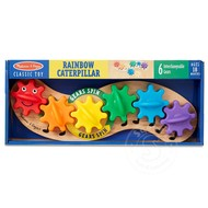 Melissa & Doug Melissa & Doug Rainbow Caterpillar Gear Toy