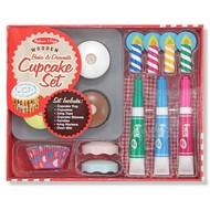 Melissa & Doug Melissa & Doug Bake & Decorate Cupcake Set Play Food