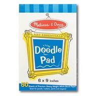 "Melissa & Doug Melissa & Doug Doodle Pad Paper (6"" x 9"")"
