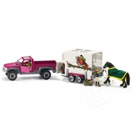 Schleich Schleich Pick-Up with Horse Trailer