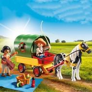 Playmobil Playmobil Picnic with Pony Wagon
