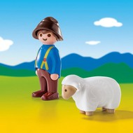 Playmobil Playmobil 123 Shepherd with Sheep RETIRED