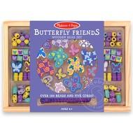 Melissa & Doug Melissa & Doug Butterfly Friends Wooden Beads Set