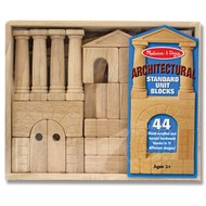 Melissa & Doug Melissa & Doug Architectural Standard Unit Blocks_