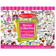 Melissa & Doug Melissa & Doug Sticker Pad Collection Pink