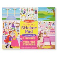 Melissa & Doug Melissa & Doug Reusable Sticker Pad Princess Castle