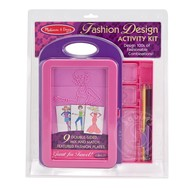 Melissa & Doug Melissa & Doug Fashion Design Activity Kit
