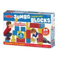 Melissa & Doug Melissa & Doug Jumbo Cardboard Blocks 24pcs