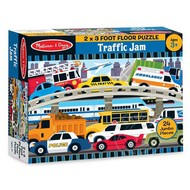 Melissa & Doug Melissa & Doug Traffic Jam Floor Puzzle 24pcs