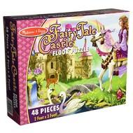 Melissa & Doug Melissa & Doug Fairy Tale Castle Floor Puzzle 48pcs