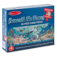 Melissa & Doug Melissa & Doug Beneath the Waves Search & Find Floor Puzzle 48pcs