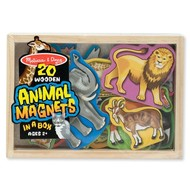 Melissa & Doug Melissa & Doug 20 Wooden Animal Magnets in a Box