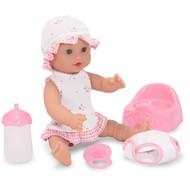 "Melissa & Doug Melissa & Doug Mine to Love Annie Wet & Drink 12"" Doll"