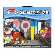 Melissa & Doug Melissa & Doug On the Go Secret Decoder Deluxe Activity Set