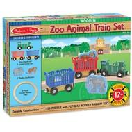 Melissa & Doug Melissa & Doug Zoo Animal Train Set