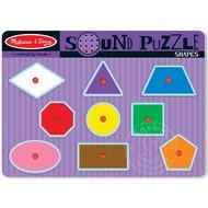 Melissa & Doug Melissa & Doug Shapes Sound Peg Puzzle_