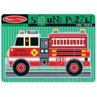Melissa & Doug Melissa & Doug Fire Truck Sound Peg Puzzle_