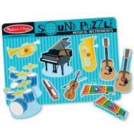 Melissa & Doug Melissa & Doug Musical Instruments Sound Peg Puzzle