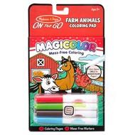 Melissa & Doug Melissa & Doug On the Go Magicolor Coloring Pad - Farm Animals